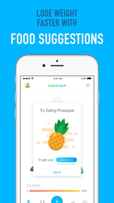 Nutritrack - Nutrition Tracker screenshot 4