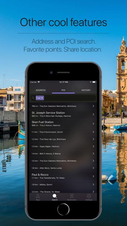 Malta Offline Navigation screenshot-4