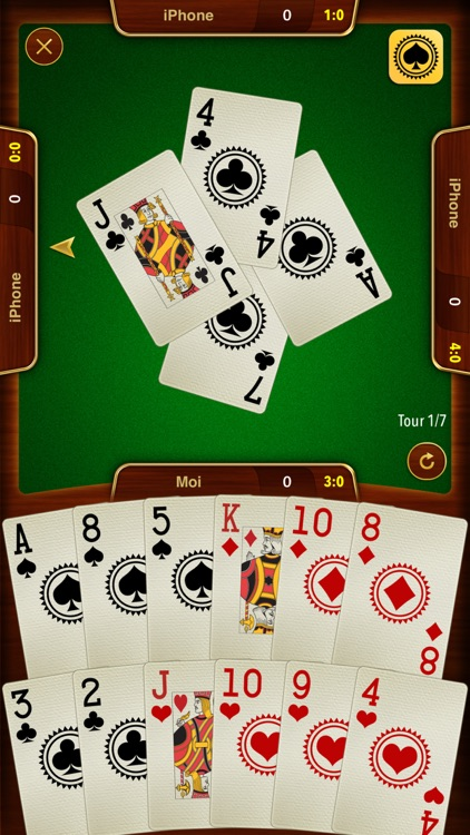 Batak - trick taking card game screenshot-0