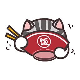 Cute Cat Mr.Hui Sticker