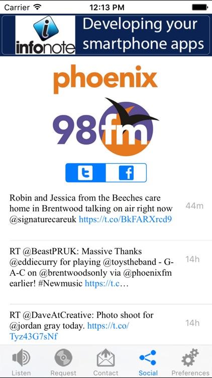 Phoenix 98FM screenshot-3
