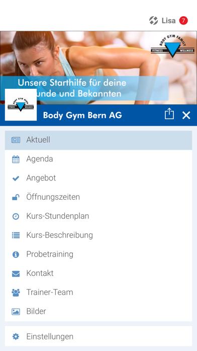 Body Gym Bern screenshot 2