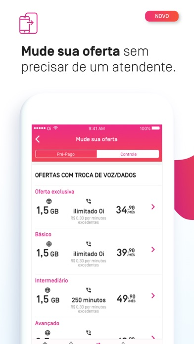 Baixar Minha Oi - Conta, 2 Via e Mais para Android