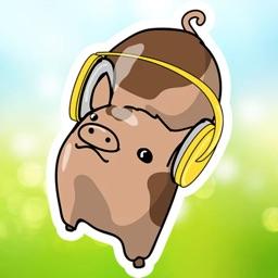 Cute Piggy Pig Stickers