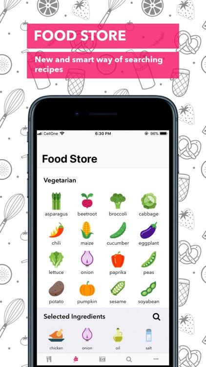 Food Book Recipes screenshot-3