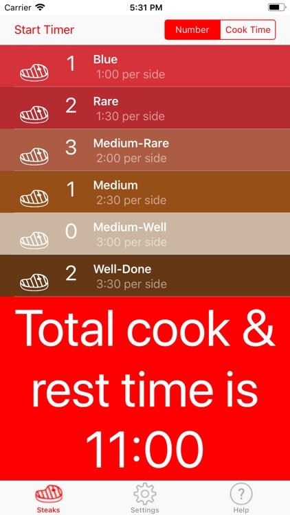 Steak Timer Pro