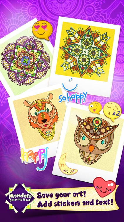 Mandala Draw Coloring Book screenshot-4