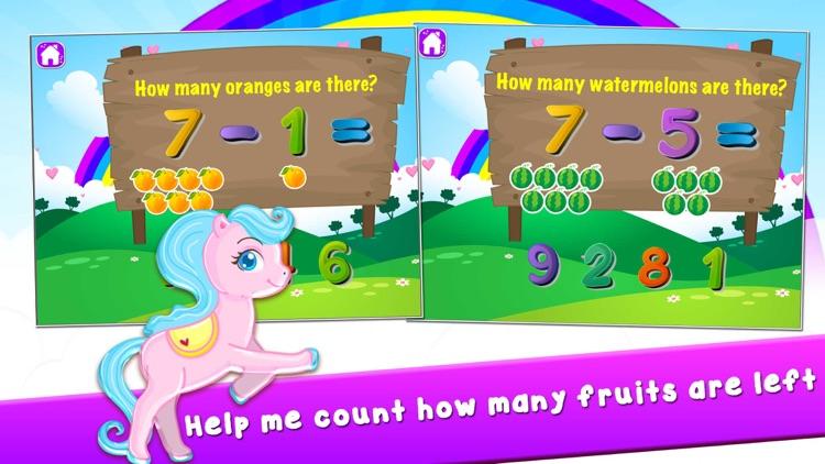 My Pony Play Math Games