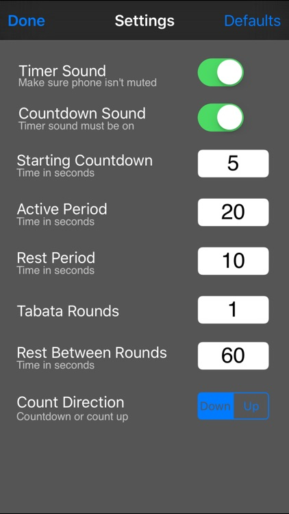 Tabata Interval Timer screenshot-3