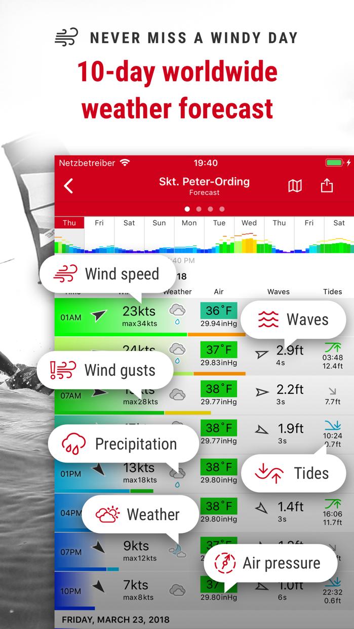 Windfinder Screenshot