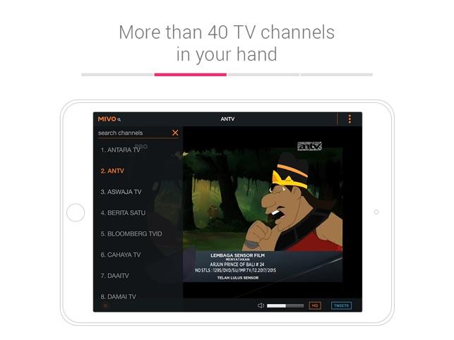 Mivo - Watch TV & Celebrities on the App Store