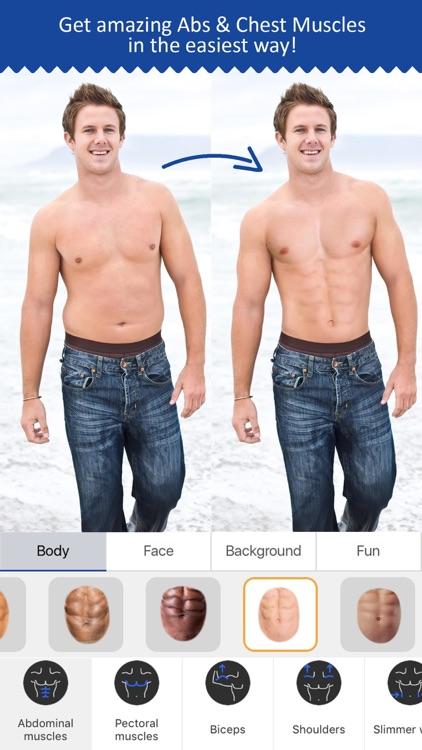 Retouch Men: Abs & Body Editor