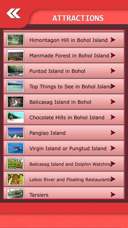 Bohol Island Tourism Guide screenshot-3