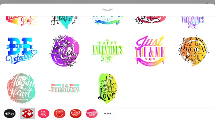 Vlaentine's Day Love Stickers screenshot-3