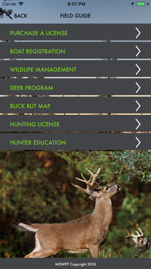Mdwfp hunting fishing on the app store for Utah hunting and fishing mobile app