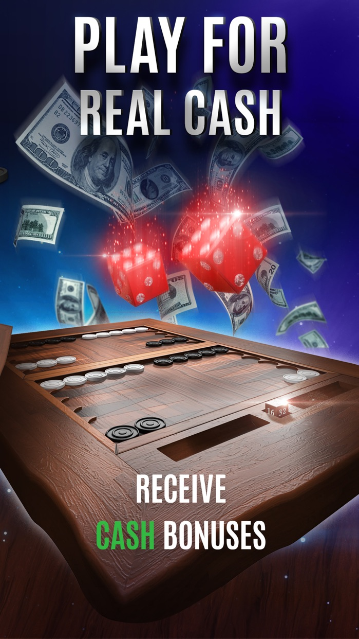 Backgammon For Money - Online Screenshot