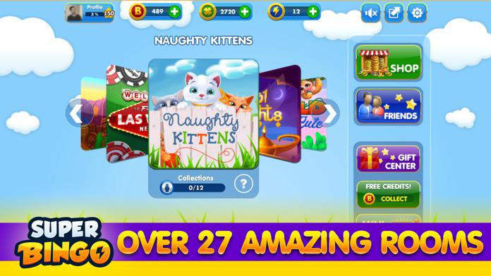 Super Bingo HD™ - Bingo Live Screenshot