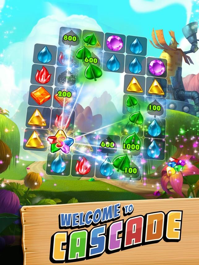 Cascade Gem & Jewel Adventure on the App Store