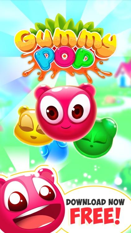 Gummy Pop Chain Reaction Games screenshot-4