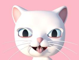 3D Animated Cat Emoji Stickers