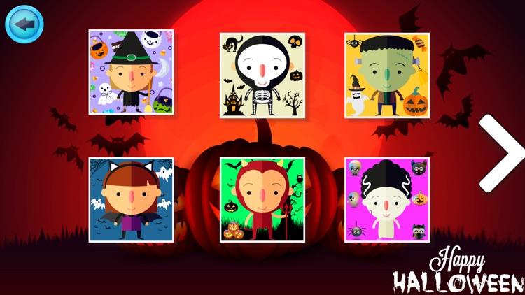 Cute Halloween Jigsaw screenshot-3