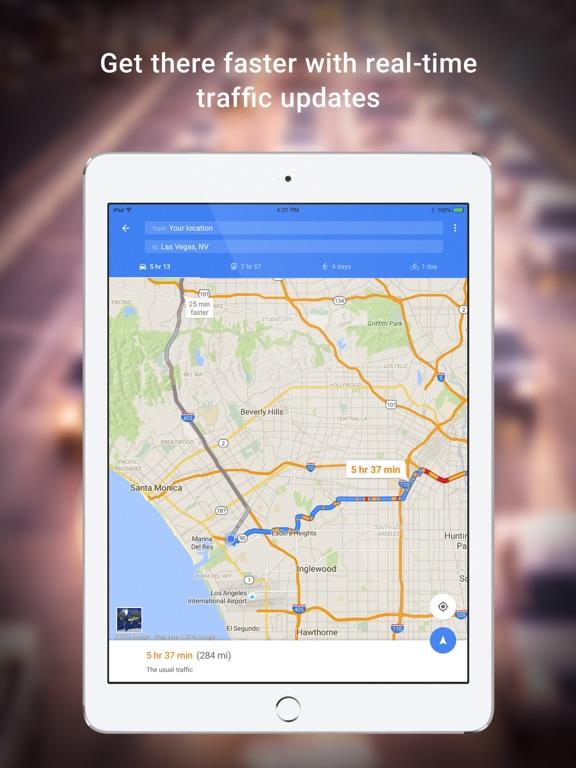 Google Maps - GPS Navigation Screenshots