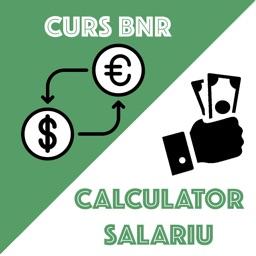 Money.ron - curs BNR, salarii