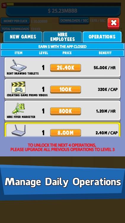 Video Game Tycoon: Tap Story screenshot-3
