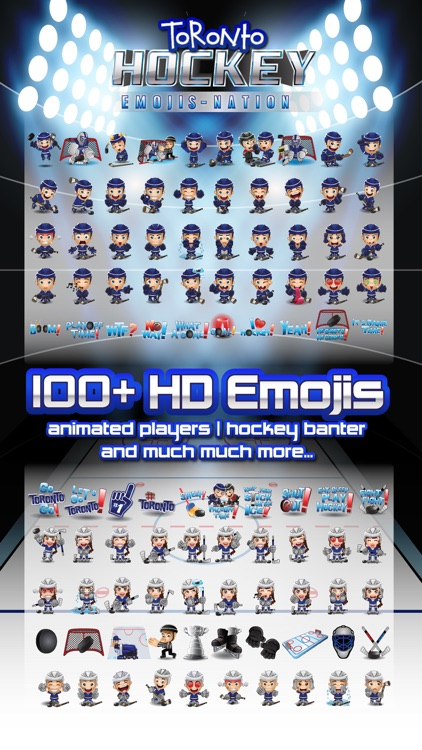 Toronto Hockey Emojis screenshot-0
