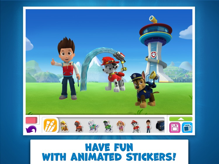 PAW Patrol Draw & Play HD screenshot-4