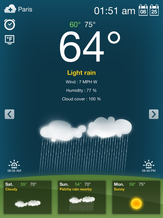 Weather for iPad Free screenshot-4