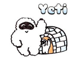 Useful and cute Yeti stickers for everybody