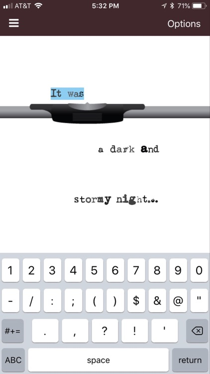 My Typewriter screenshot-2