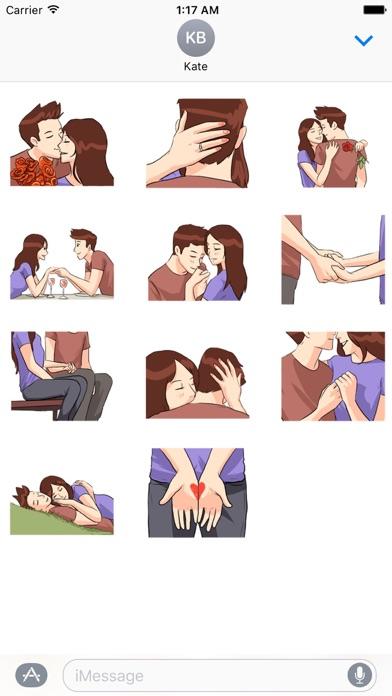 LoveMoji Signs of Love Sticker screenshot 3