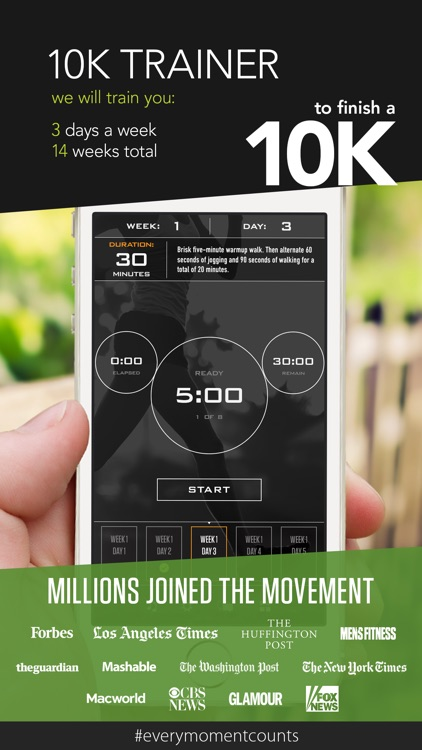 10K Trainer by C25K® screenshot-0