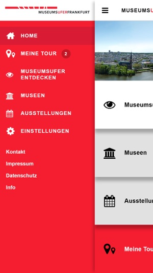 MuseumsuferApp Screenshot