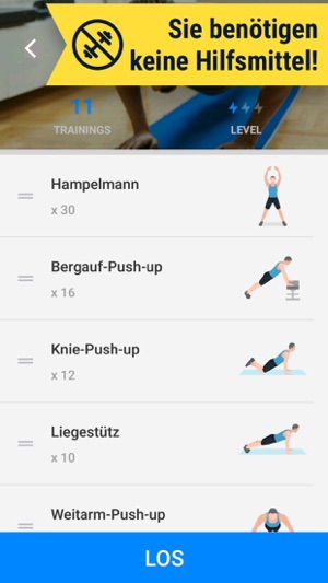 Workouts Zuhause Fitness App Im App Store
