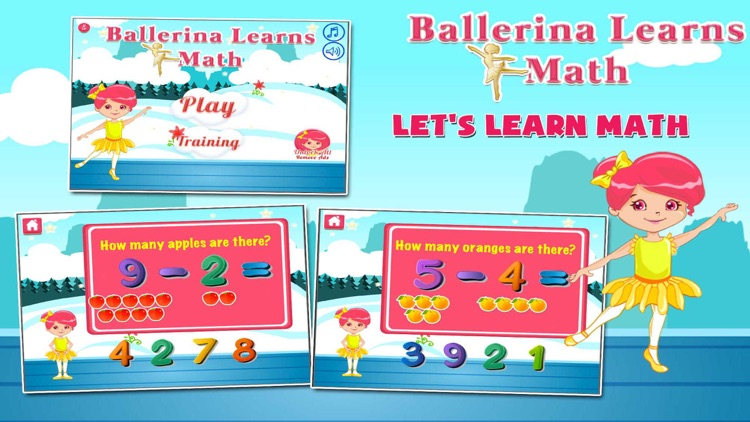 Ballerina Math Mania screenshot-0