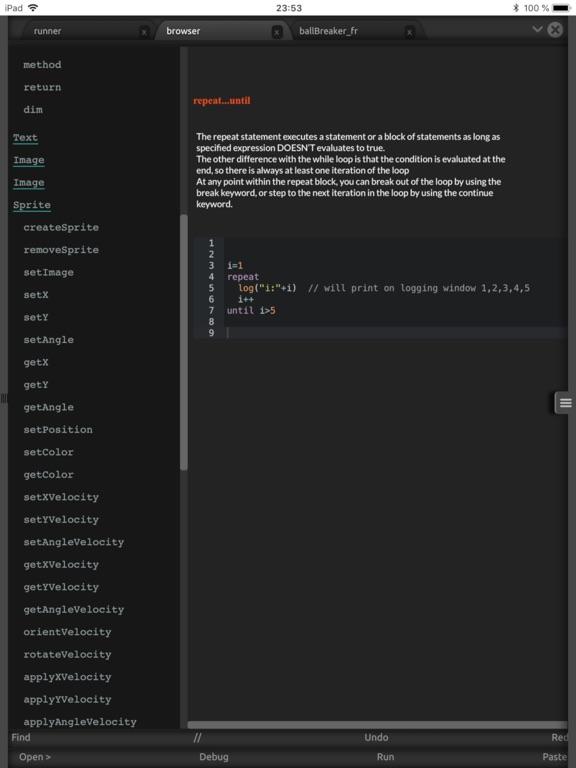 Sprite Basic Game Programming screenshot 10