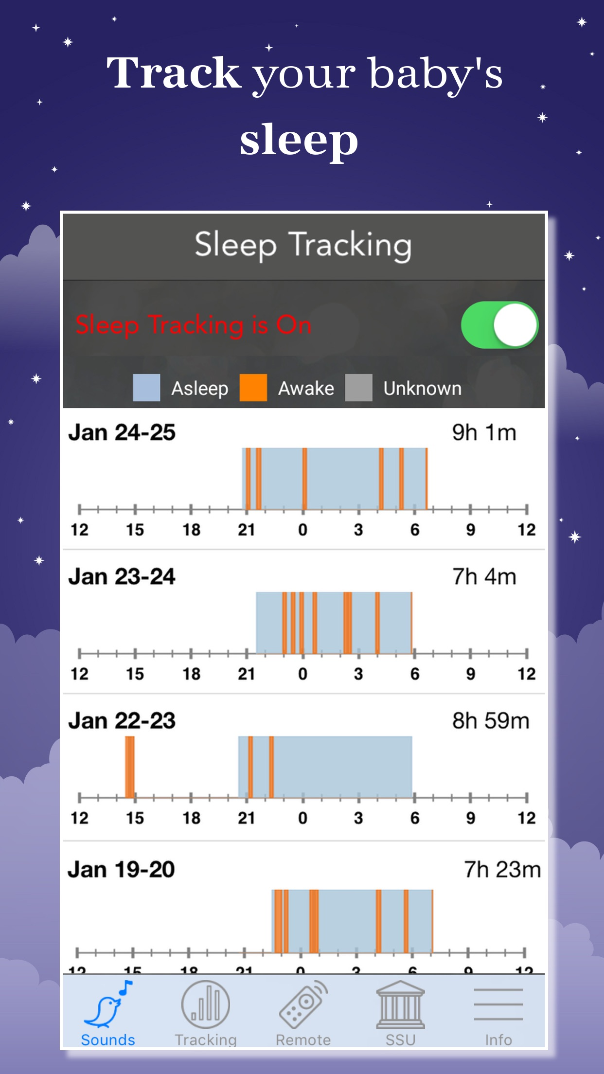 Sound Sleeper: White Noise Screenshot