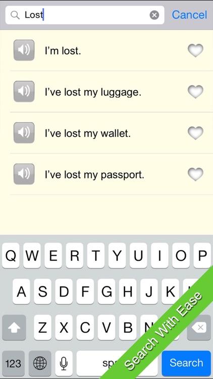 Fodor's Travel Phrases screenshot-4