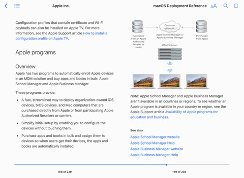 Macos deployment reference by apple inc on apple books screenshot 3 malvernweather Gallery