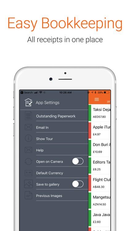 Receipt Bank Scanner & Tracker screenshot-4