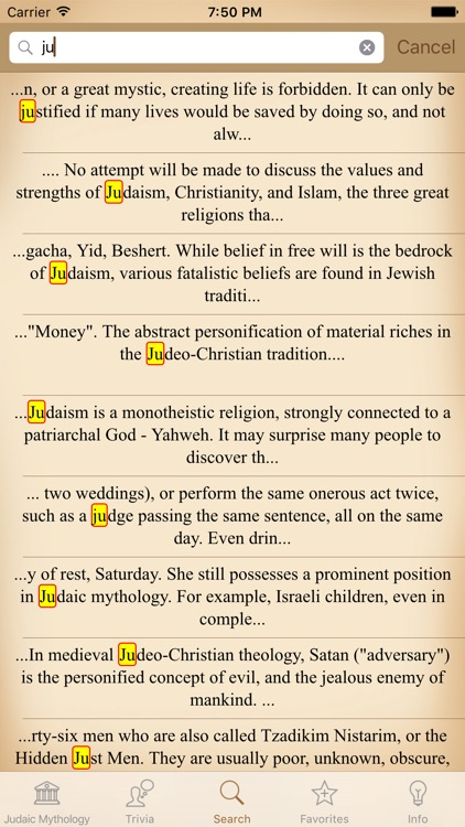 Mythology Judaic by Daniel Cristolovean