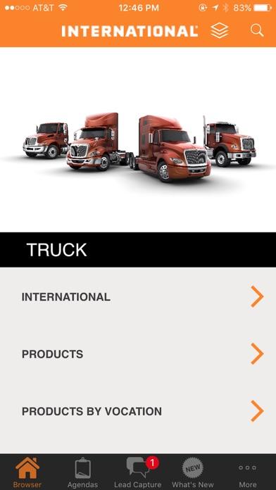 International Sales App screenshot