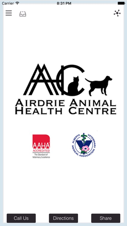 Airdrie Animal Health Centre.