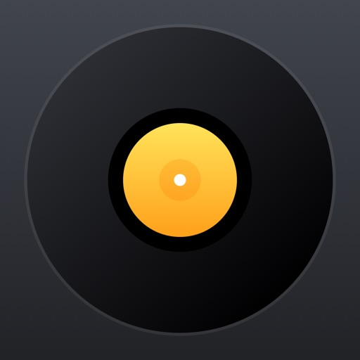 djay Pro for iPhone application logo