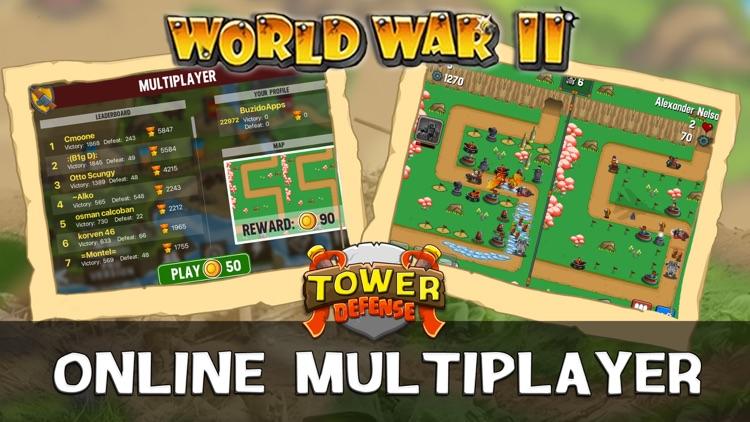 WWII Tower Defense screenshot-3