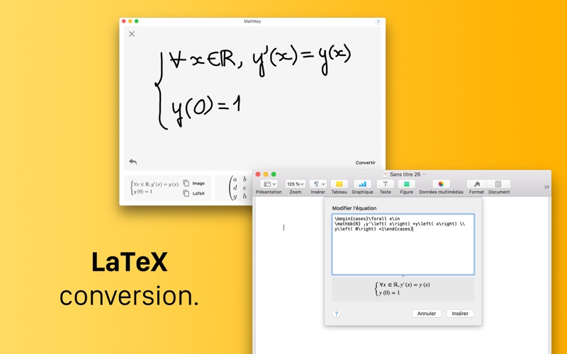 MathKey - LaTeX Converter