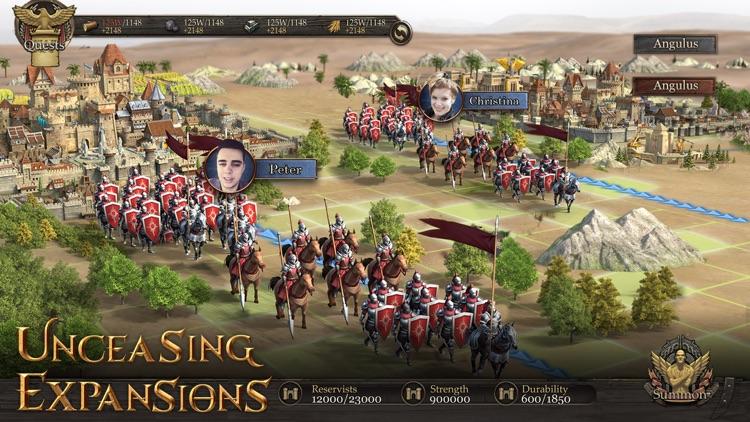 Immortal Conquest-War Strategy screenshot-3
